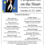"""Perspectives on the Heart: A Workshop in Phenomenology"" (October 21-23, 2020)"